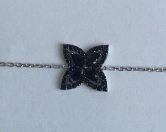 Fancy 925 Silver Chain Bracelet