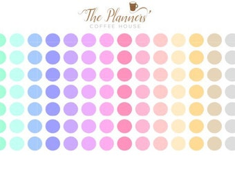 98 Pastel Dots