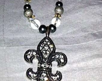 Fleur D' Lis necklace