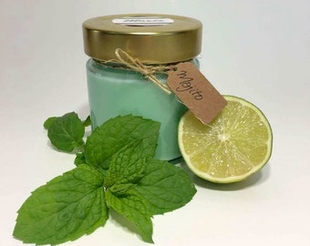 Candle soy Mojito