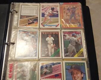Baseball card Lot Vintage