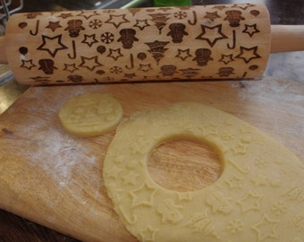 christmas rolling pin-1