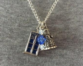 Handmade TV Inspired Necklace
