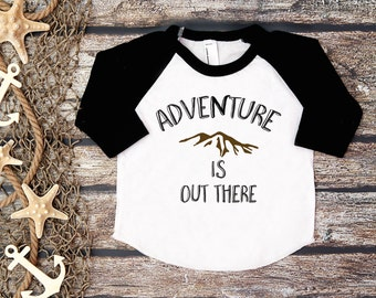 Adventure is out There Tee;Adventure Shirt;Kids' Adventure Shirt;Adventure;Toddler Adventure Tee;Hipster Kids' Tee;Nature Shirt;Toddler Tee