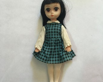 Vintage Susie Sad Eyes doll with original dress