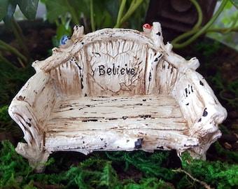 Miniature Bench - Believe