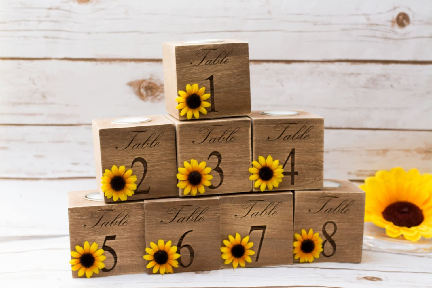 Sunflower Themed Kitchen Decor Table Centerpiece Etsy