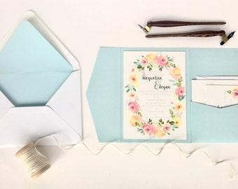 Perkins Suite Wedding Invitations