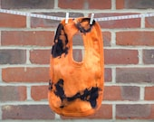 Tie Dye Bib - Orange Hand...