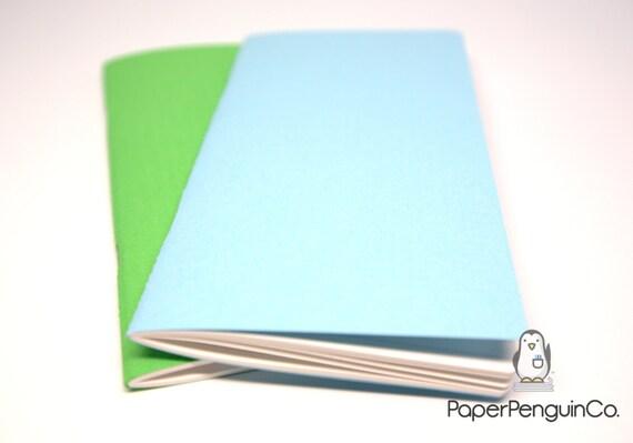 Midori Insert Textured Feel MTN Travelers Notebook Regular Wide B6 Personal A6 Pocket Field Notes Passport / Grid Dots Lined Blank