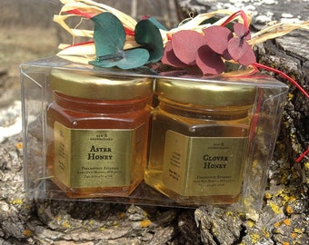 Honey Sampler 4 x 2oz jars