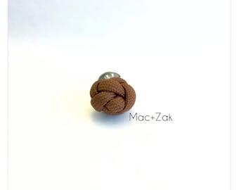 Coconut Grove Diamond Knot Pin