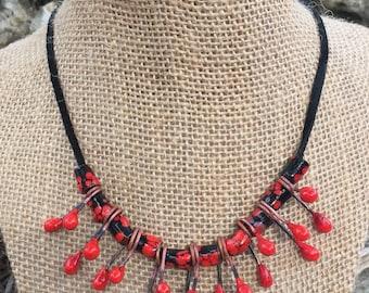 Spiky Valentine Necklace