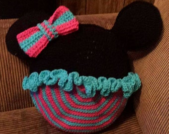 Minnie Mouse inspired pillow