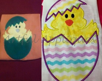 Duck Egg Applique Design