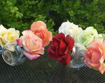 Assorted color favor-it jars