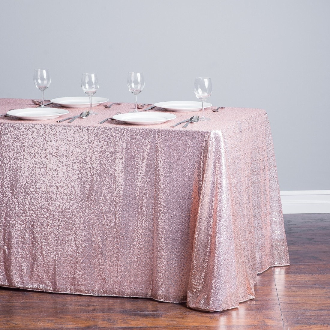 Blush Sequin Tablecloth, Baby Shower Table Cloth, Sequin Tablecloth, Gold  Sequence, Gold Table Overlay, Table Runner