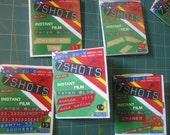 7 Shots  Set Three (3rd five)  #11 China Boo I ,#12 China Boo II ,#13 earth adress 33 , #14 Eroica ,#15 Cranes Two