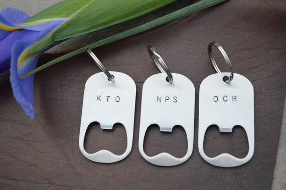 groomsman gift custom order bottle opener keychain enter. Black Bedroom Furniture Sets. Home Design Ideas