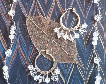 Hand-Cut Crystal Jewelry Set