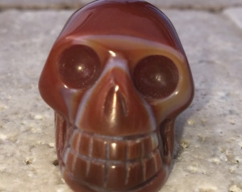 Carnelian Crystal Skulls