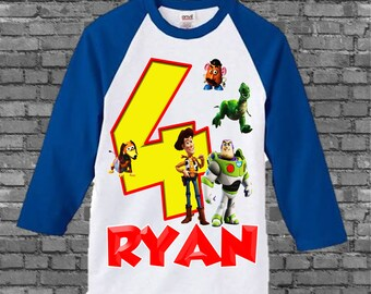 Toy Story Birthday Shirt - Toy Story Shirt - Different Styles Available