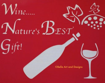 Wine stencils List 1 *Free gift with every order*