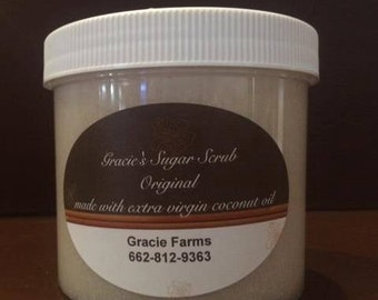 Gracie's Sugar Scrub Lavender