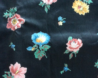 1950s Floral Chintz