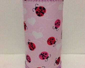 Ladybug Decorative Vase/Candleholder
