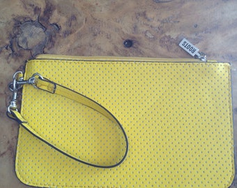 DrawString pouch Yellow Sun ROOTS
