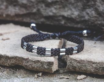Mens bracelet. Brown waterproof bracelet. Better than leather bracelet . Men's Bracelet. Rope mens brown bracelet. Adjustable bracelet.