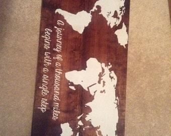 World Map, Earth, Home decor