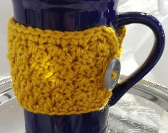 Mug Cozy - Mustard Yellow