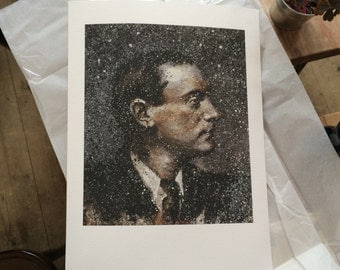 Limited Edition Prints, Padraig Pearse Prints, 1916 Easter Rising, A3 Giclee Print, Wall Art, 30x40cm