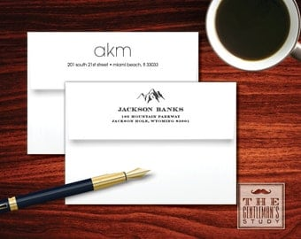 Return Address Printing on Envelopes