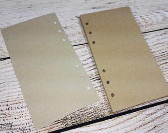 Notepaper Filofax - kraft paper - brown - 25 Sheets - Personal, A5