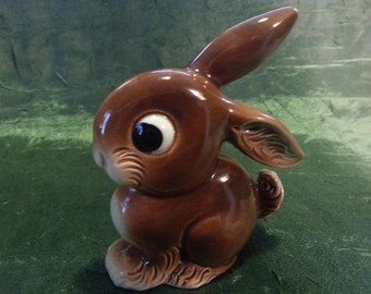 "Porcelain figurine eyed hare. Мade ""GOEBEL"""