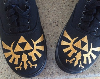 Custom Hand Painted Zelda Shoes