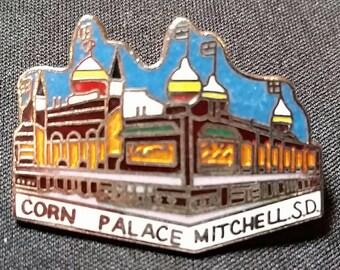 Corn Palace, Mitchell, South Dakota Souvenir Hat/Lapel Pin