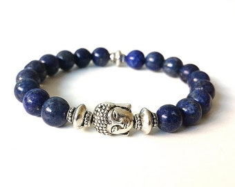 Bracelet of lapis Blue velvet