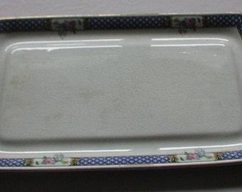 Vintage Hughes Longport Rectangular Plate Platter
