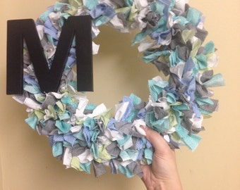 Custom Fabric Wreath