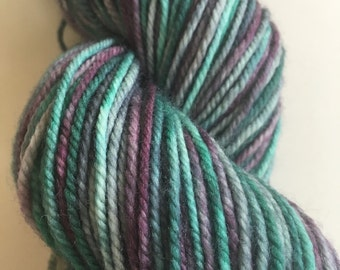 Hand Dyed Variegated Sport Weight/5ply Yarn.