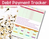 Debt Snowball / Payment Tracker - Printable Planner