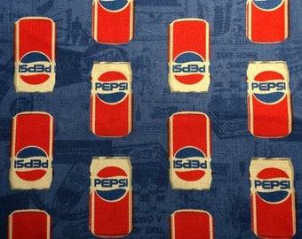 Pepsi Fabric Cotton Fabric Fat Quarter 18 X 22