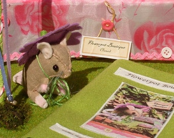 Collectible Soft Toy Kit, Riverbank Farm Kit No. 3, Mrs Fieldmouse