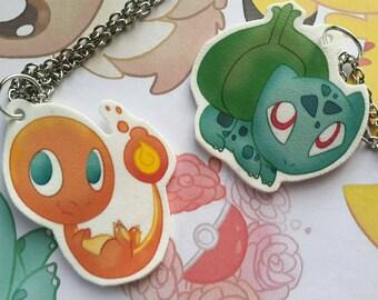 Chibi Pokemon Necklace
