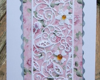 Flower Panel Card (137)