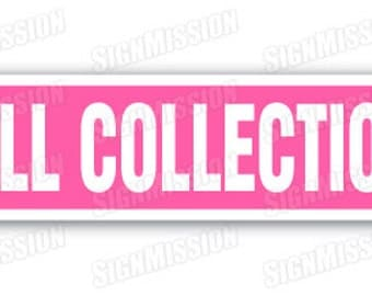 DOLL COLLECTION Street Sign barbie antique collectible collector gift baby